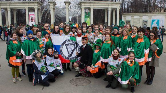 После Дня Святого Патрика начинаем заниматься ирландскими танцами!